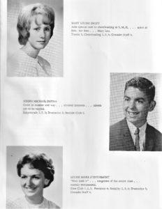 SMHS Walth 1963 Yrbk Pg 24