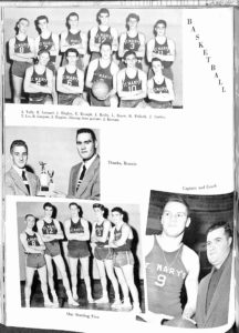 SMHS Waltham Yearbook 1955 Pg 104