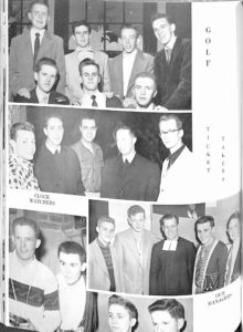 SMHS Waltham Yearbook 1955 Pg 110