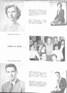 SMHS Waltham Yearbook 1955 Pg 34