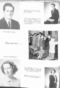 SMHS Waltham Yearbook 1955 Pg 48