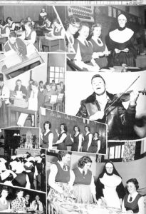 SMHS Waltham Yearbook 1955 Pg 60