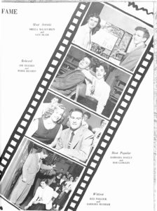 SMHS Waltham Yearbook 1955 Pg 93
